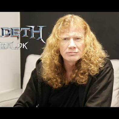 Videointerview med Dave Mustaine/Megadeth