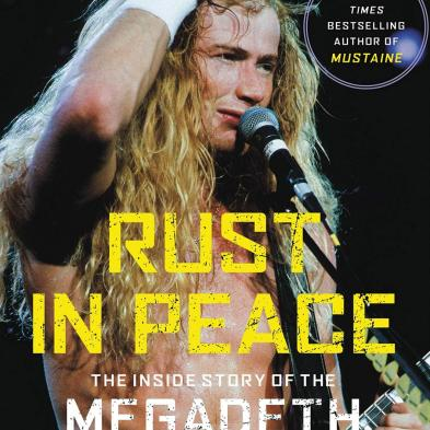 Dave Mustaine - Rust in Peace (bog)