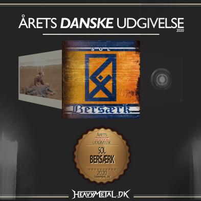 Årets Danske Udgivelse - 3. pladsen