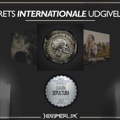 Årets Internationale Udgivelse - 2. pladsen