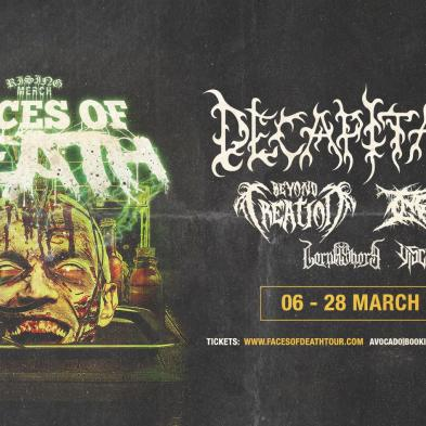 Decapitated, Beyond Creation, Ingested, Lorna Shore, Viscera m.fl. - VoxHall - 8. marts 2020