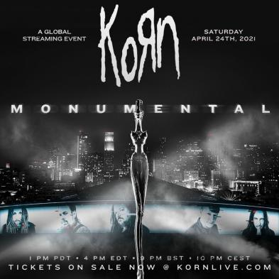 Korn - streaming event - 24. april 2021