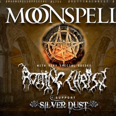 Moonspell og Rotting Christ - Godset - 5. december 2019
