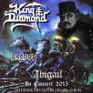 "King Diamond udgiver ""Abigail In Concert 2015"" som DVD/ Blu-ray"