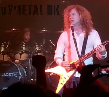 Megadeth - Store Vega - 25. maj 2013