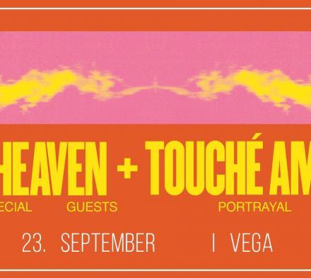 Deafheaven og Touché Amoré - Store Vega - 23. september 2019