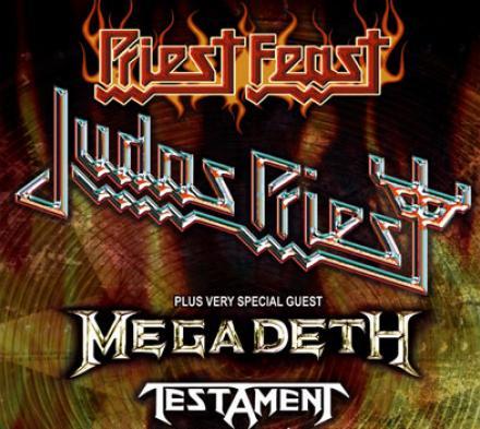 Judas Priest, Megadeth og Testament - Forum Horsens - 3. marts 2009
