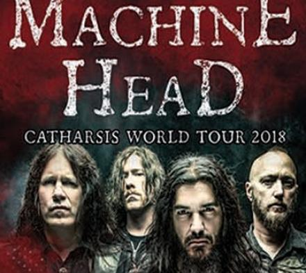 Machine Head - Store Vega - 1. maj 2018