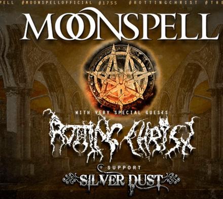 Moonspell og Rotting Christ