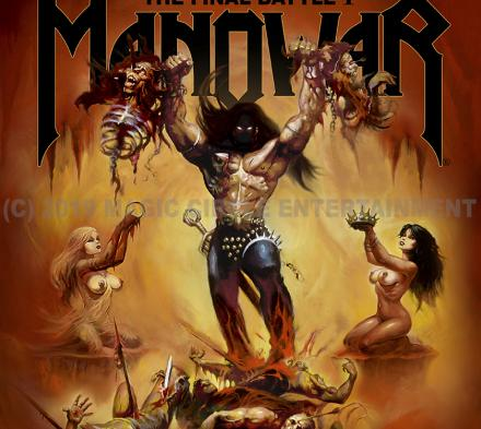 Manowar - Valbyhallen - 1. april 2019