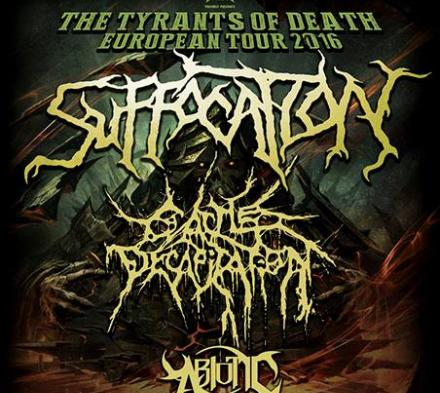 Suffocation og Cattle Decapitation - Pumpehuset - 22. marts 2016