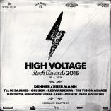 High Voltage Awards 2016