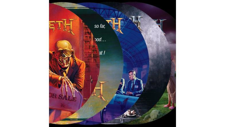 Megadeth på picture discs