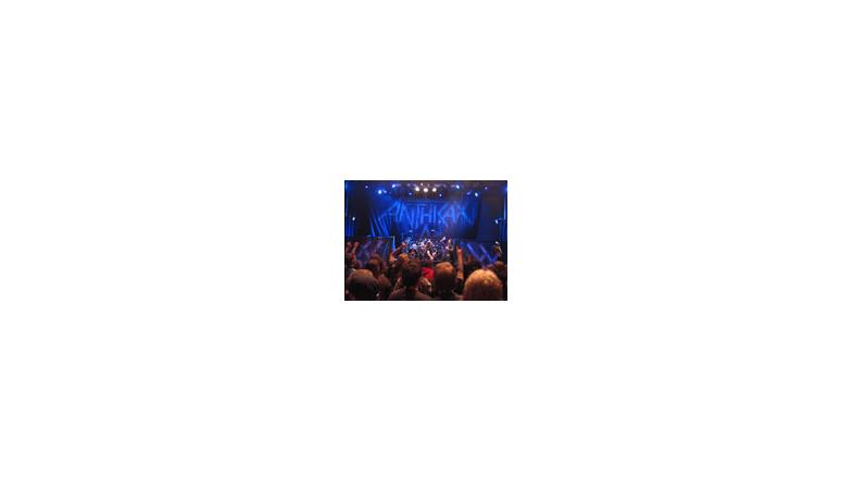 Se hel Anthrax koncert
