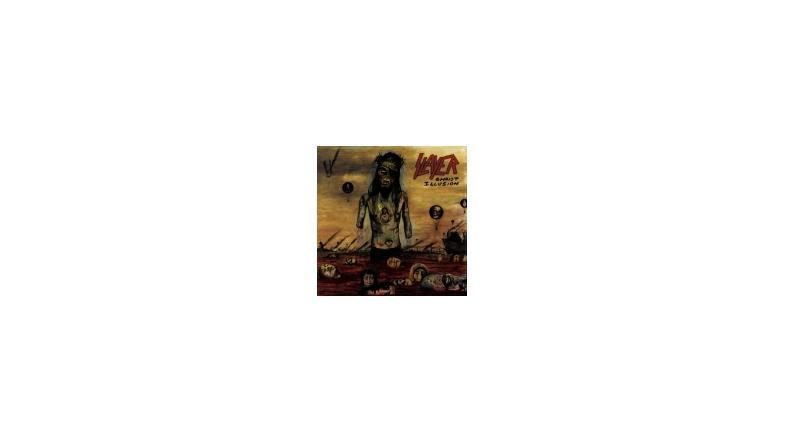 Slayer album artwork