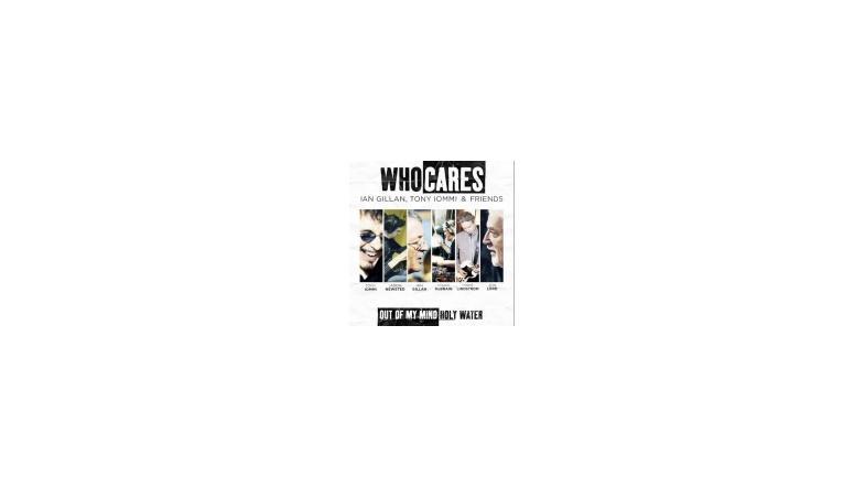 WhoCares: superprojekt med Iommi, Gillan, McBrain, Newsted m.fl.
