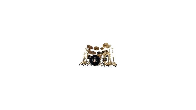 Portnoy, Ulrich og Peart på Gibsons rocktrommeslager top 10