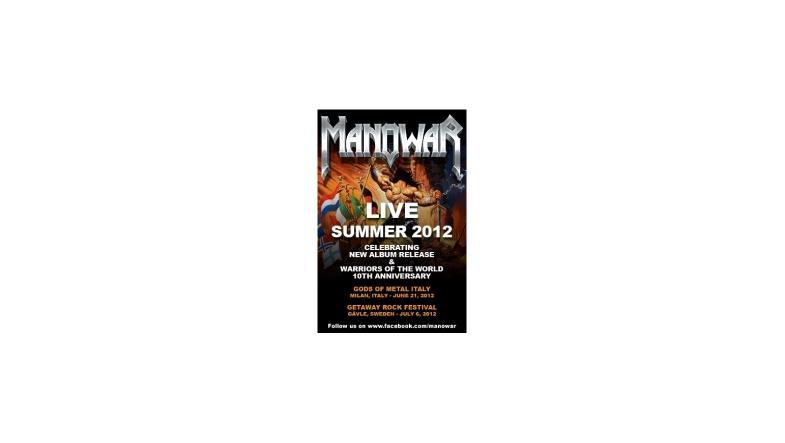 Kort preview fra Manowars kommende album