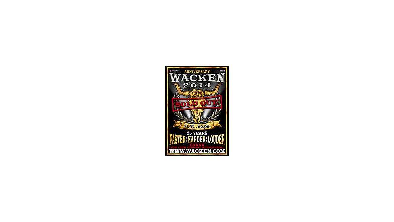 Wacken 2014 udsolgt på 48 timer
