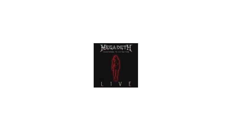 Megadeth: Countdown To Extinction live