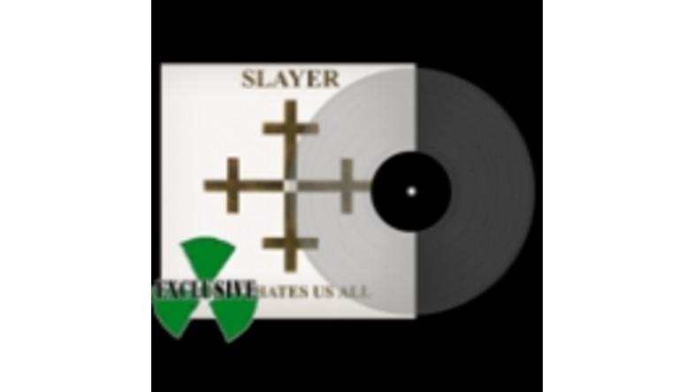 Slayer: Preorder transparente vinyl LP´er