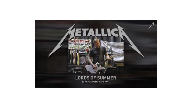 "Metallica: Hør ""Lords of Summer"" (Garage Demo Version)"