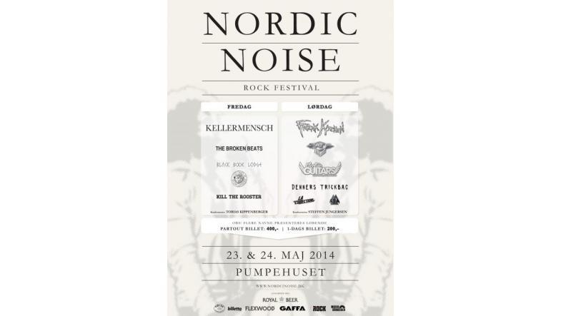 Nordic Noise festival: Nu med fuldt lineup - næsten