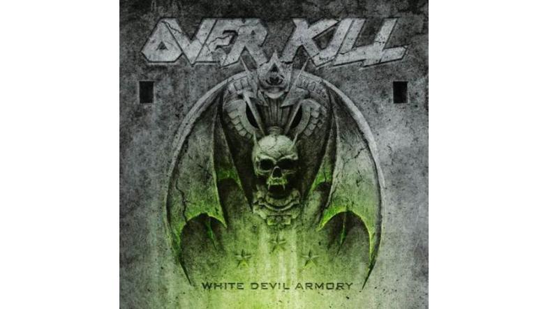 Overkill: Cover artwork & tracklist for »White Devil Armory«