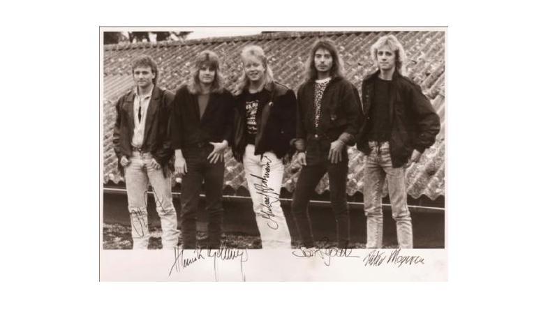 Metal Cross og Artillery giver koncert i Randers