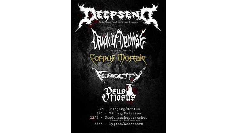 Dansk dødsmetal mini-tour