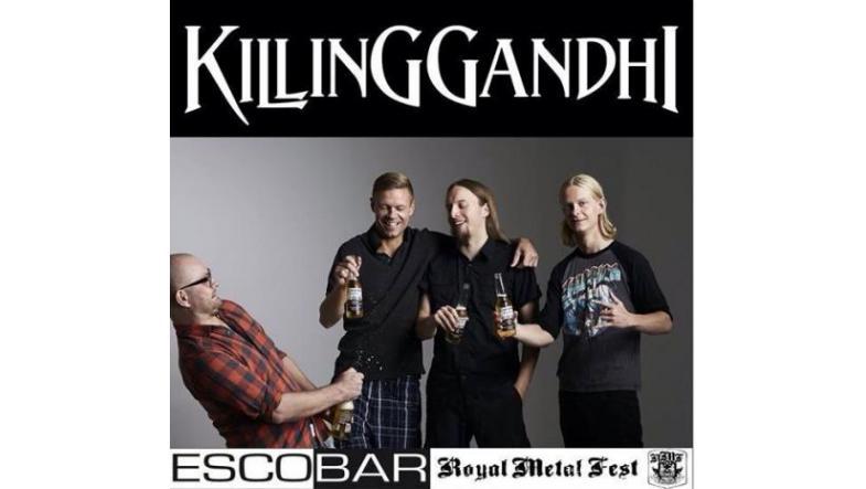 Killing Gandhi: Attention Aarhus - mere metal på skærtorsdag