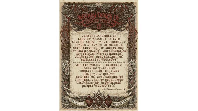Heavy Days In Doomtown III: Doom Stoner Sludge Festival