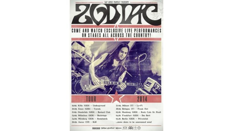 Zodiac: Ny video fra det tyske retro rock n roll band