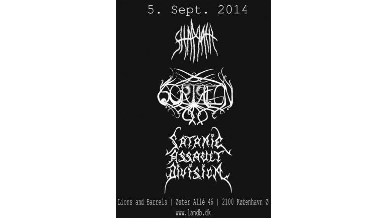 Black metal på Lions and Barrels den 5. september