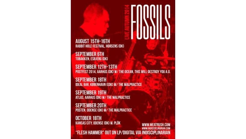 """Fossils på efterårsturne - og """"mystisk"""" udgivelse på vej"""