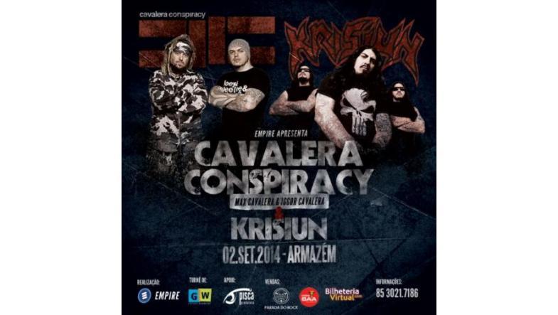 Cavalera Conspiracy: Se titelnummeret 'Babylonian Pandemonium'