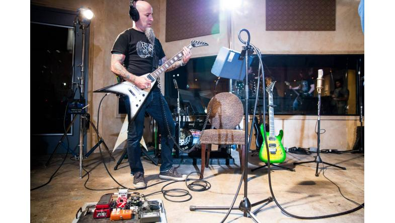 Anthrax i studiet for at optage deres 11. album