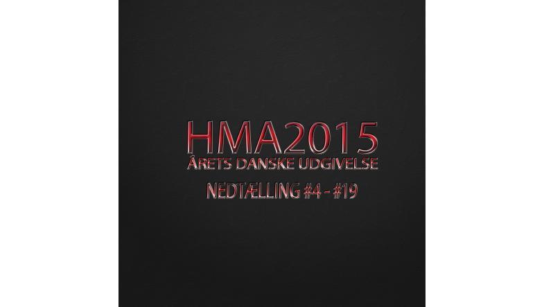 HMA2015 årets danske udgivelse countdown