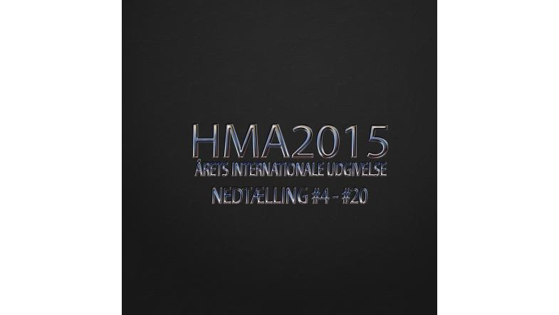 HMA2015 årets internationale udgivelse countdown