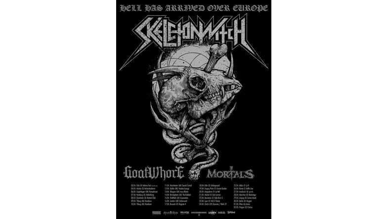Skeletonwitch, Goatwhore og Mortals