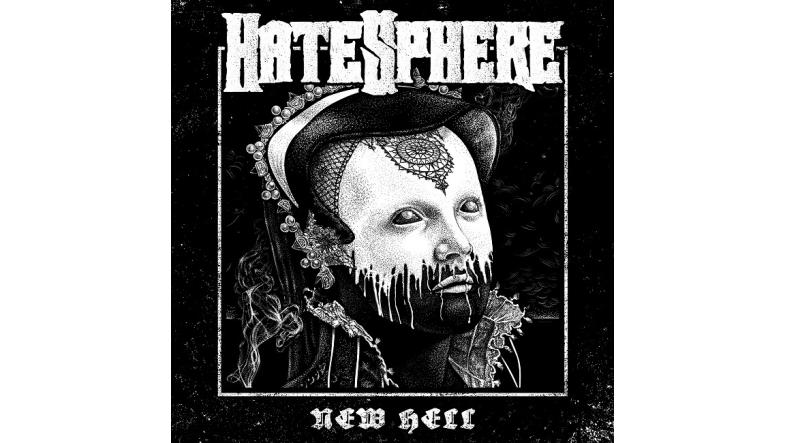 "HateSphere ""New Hell"" Cover art af Niclas Mortensen"