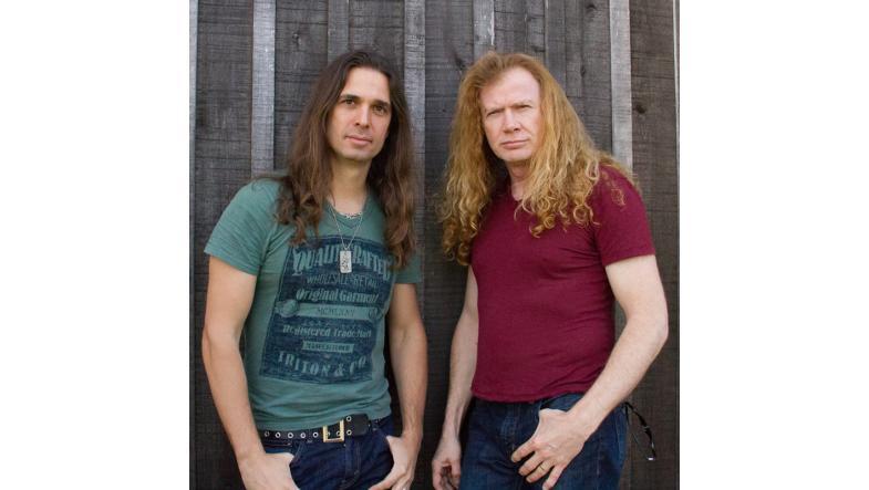Kiko Loureiro og Dave Mustaine