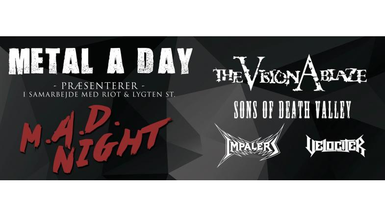 Metal a day M.A.D. Night 2016