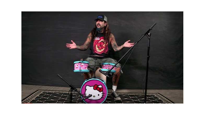 Hello Kitty og Mike Portnoy
