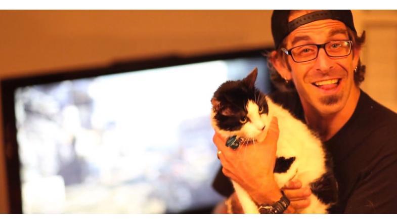 Randy Blythe - og katten Salad