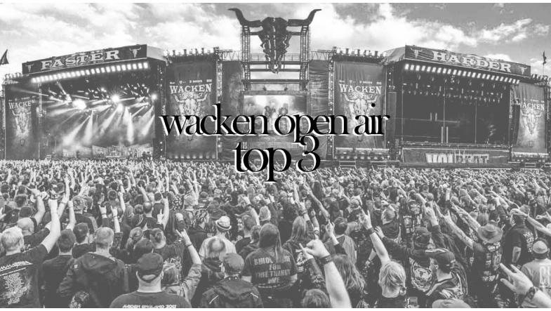 WACKEN top 3